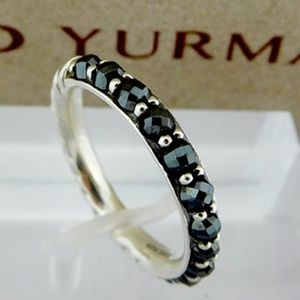David Yurman Hematite Berries Band 925